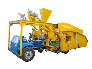 Trailer-mounted Dry Shotcrete Machine with Automatic Feeding System ZLPⅠ/Ⅲ