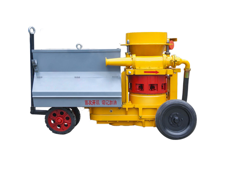 Wet Mix Concrete Spraying Shotcrete Machine HS700