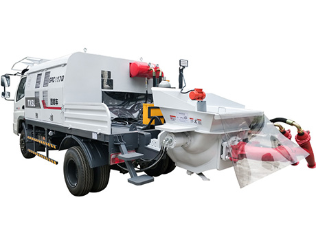 Truck-mounted Shotcrete Machine SPCII with Double Spraying Heads