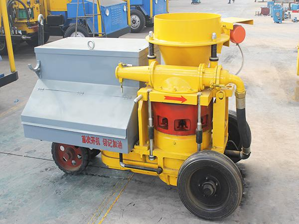 The definition and elements of a Shotcrete machine