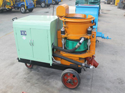 The advantages of shotcrete machine for slope protection