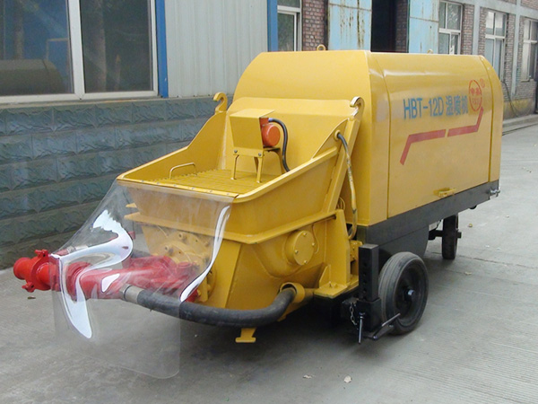 pump-type shotcrete machine